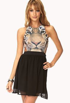 Into The Wild Cutout Dress | FOREVER21 - 2000092880