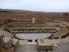 Timgad, Algeria's largest Roman city, 30km east of Batna town.