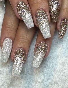 glitter nail art inspiration