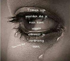 Tranen...