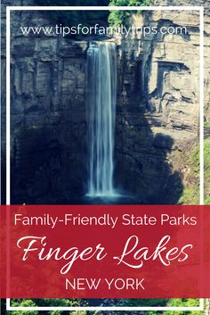 The Finger Lakes are a gorgeous destination in New York State, filled with waterfalls. Here are our favorite state parks in the Finger Lakes for families. New York Tipps, New York State Parks, Fun Winter Activities, Travel Activities, Lake George Village, Summer Vacation Spots, Couples Vacation, Finger Lakes, Hiking Tips