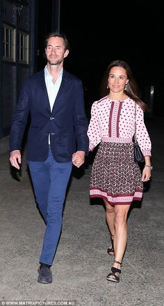 Newlyweds Pippa and James scale the Sydney Harbour Bridge #dailymail