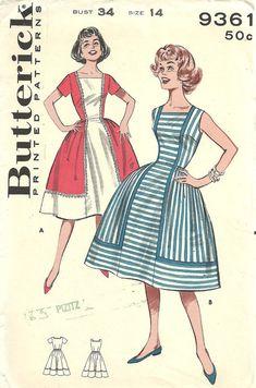 Schnittmuster Butterick 9361 / Vintage 60er von studioGpatterns