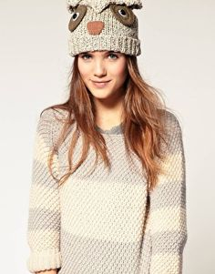owl hat . . .