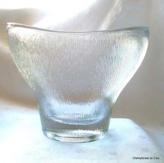 Mid Century Modern by Cherryforest on Etsy Czech Glass, Mid-century Modern, Glass Vase, Mid Century, Bath, Eye, Antiques, Wedding, Beautiful