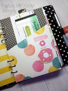 Carpe Diem Planner by design team member Shellye McDaniel