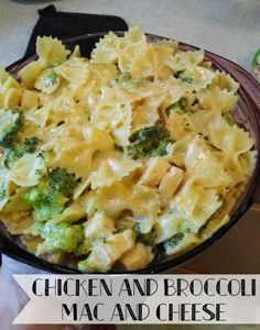 21 Day Fix Chicken and Broccoli Mac and Cheese. 21 Day Fix approved recipes. #21dayfix #pasta #recipes