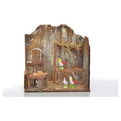 gallinero 20x14x20 Bookends, Painting, Home Decor, Art, Hen House, Nativity Scenes, Tents, Xmas, Art Background