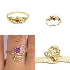 #jewelry #rings #bands #womensrings #delicatering #floralring #14kgoldring #ringsforwomen #victorianring #stonering #uniquering #solidgoldring #goldrubyring #realgoldring #genuineruby #pinkring #14kgoldring #solid14kring #promisering #engagementring #realgoldring