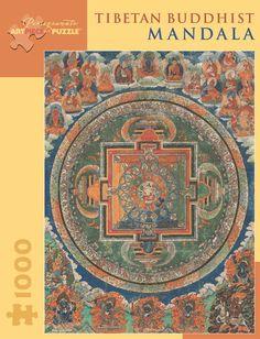 Pomegranate Jigsaw - Tibetan Buddhist Mandala (1000 pieces)