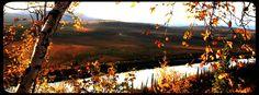 Porcupine river fall scenery