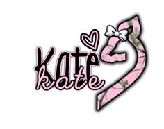 kate- pink camo browning and a bow...this is me in a mini nutshell!!