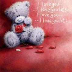 Tatty Teddy I love you lots