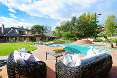 This resort style pool is full of luxury.