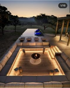 Dream Home Design, Modern House Design, Modern House Facades, Outdoor Fireplace Designs, Fireplace Ideas, Modern Outdoor Fireplace, Design Exterior, Luxury Homes Dream Houses, Dream Homes