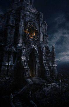 Facebook Fantasy castle Fantasy landscape Gothic castle