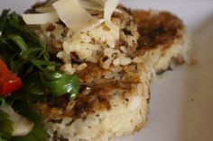 In Season – Mushroom Risotto Cakes | The $120 Food Challenge