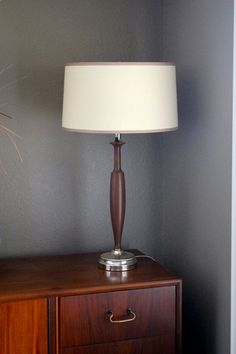 Mid Century Modenr Danish Vintage Table Lamp by IlluminateVintage, $89.00