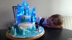 Frozen birthday cake. Frozen Birthday Cake, Frozen Cake, Cakes, Desserts, Food, Tailgate Desserts, Deserts, Cake Makers, Kuchen