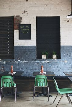 Restaurant design. Xiao Bao Biscuit   Charleston, SC