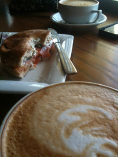 time for that double shot latte, lox and everything bagel, courtesy of BlackGold