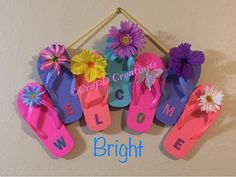 Flip-Flop Welcome Wreath