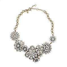 Flower lattice necklace/