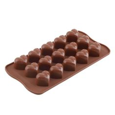 Heart Shape Ice Chocolate Silicone Cube Chocolate Cake Jelly Tray Pan Heart Maker Mold Mould Fondant