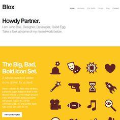 Blox Portfolio WordPress Theme   Premium WordPress Themes