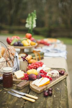 A cheese table to die for in this rustic Irish wedding inspiration | Photo by Paula O'Hara | 100 Layer Cake