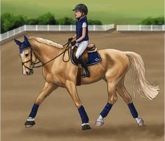 New palomino on the block by weezapony