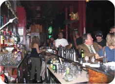 The Matchbox, a bar located on Milwaukee & Odgen in the River West neighborhood of Chicago.  Intimate bar with some of the best cocktails around!