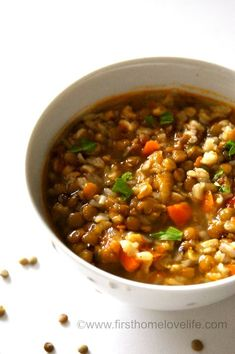 I love lentils! There I said it... ;) It wasn't always that way though. I went 20+ years never trying a lentil, and just assuming I didn't like it. The beautiful thing about marrying into a family that has a completely different culture and lifestyle than yours is you get to experience new things,...