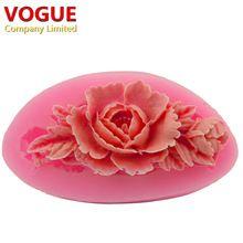 3D Kawaii Silikónové Flower Forma na tortu výzdoba fondant formy Formy na mydlo Jelly Candy Tools N1963 (Čína (pevninská časť))