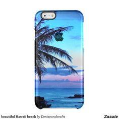 beautiful Hawaii beach Clear iPhone 6/6S Case