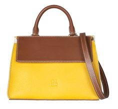 Yellow 'Victoires' bag - CH Carolina Herrera Spring 2015