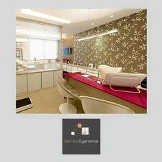 Consultório de ginecologia e obstetrícia.