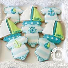 nautical baby cookies ile ilgili görsel sonucu