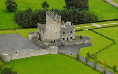 Castles in Ireland- Cloghan Castle, County Galway, Ireland.