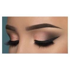 Get Ready For A Glamorous Night With These 15 Smokey Eye Makeup Ideas ❤ liked on Polyvore featuring beauty products, makeup, eye makeup and eye look