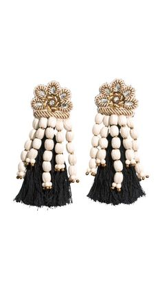 H&M Large clip on earrings
