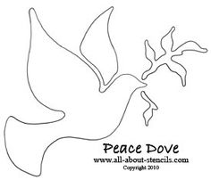 Free Christmas Stencils and Plenty of Christmas Art Projects