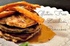 Gluten Free Zucchini Pancakes