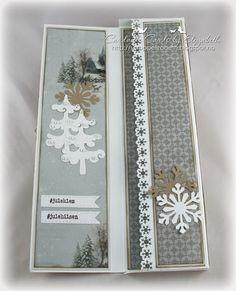 Cardville- Cards by Elizabeth: DT Bikuben: Sjokoladekort til jul
