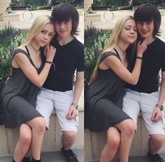 Chandler Riggs and girlfriend Briana Maphis