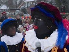 **picture links to article** Though I love reading about traditions from other cultures, this one IS a little troubling...But then again, as an american, I imagine blackface has a different connotation to me than it does to the Dutch. truly interesting nonetheless.