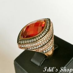 Authentic Turkish Ottoman Style Handmade 925 Sterling Silver Ring by Idil's Shop, $85.00