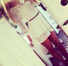 #dress #lace #white