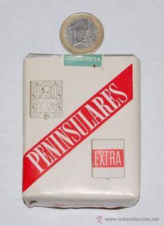 Tabaco paquete de PENINSULARES nuevo a estrenar en buen estado
