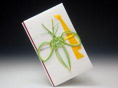 mizuhiki decoration on a money envelope...beautiful...